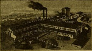 Mexican mining plant image dated 1920
