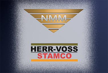 An image depicting the NMM and Herr-Voss Stamco logos.